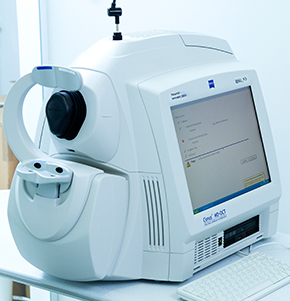 Tomografia de Retina (OCT)